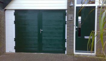 Openslaande garagedeuren Groningen Drenthe Friesland