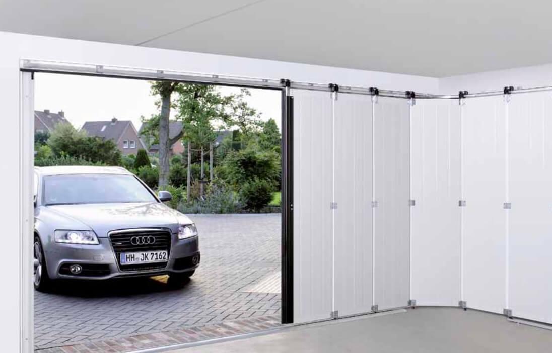 Zijwaartse Garage Sectionaaldeuren Hormann Bengs Deuren